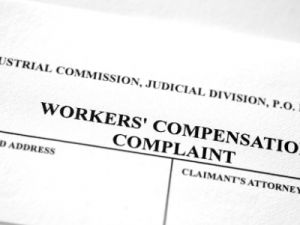 """Workers' compensation complaint form illustration """"Do I need a lawyer for a worker injury"""""""